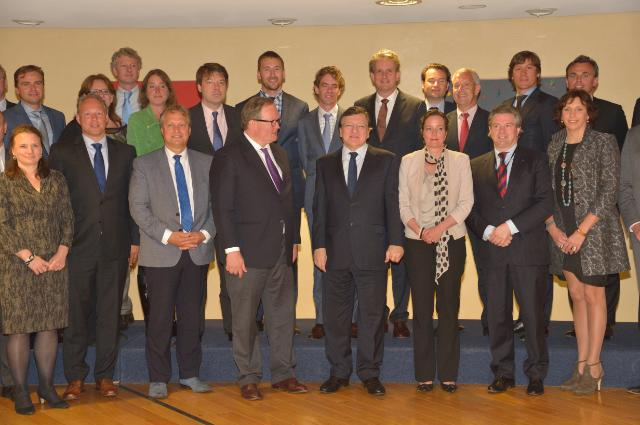 Visit of a group of Dutch parliamentarians from the VVD Parliamentary Group to the EC
