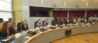Participation of Viviane Reding, Vice-President of the EC, and László Andor, Member of the EC, in a round table on Roma integration