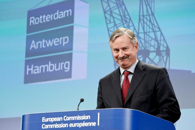 Press conference by Siim Kallas, Vice-President of the EC, on the upgrade for 300 key European seaports