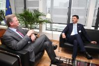 Visit of Darko Pajović, Leader of the Positive Montenegro Party, to the EC