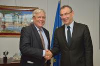 Visit of Joan Clos, Executive Director of UN-Habitat, to the EC
