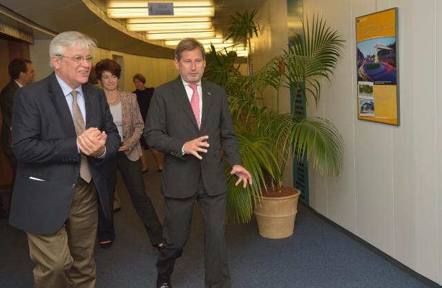 Visit of Joan Clos, Executive Director of UN-Habitat, to the EC
