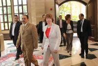 Visit of Catherine Ashton, Vice-President of the EC, to Lebanon