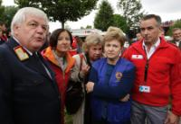 Participation of Kristalina Georgieva, Member of the EC, at an exercise of the EU Civil Protection, simulating a natural disaster that caused a train accident