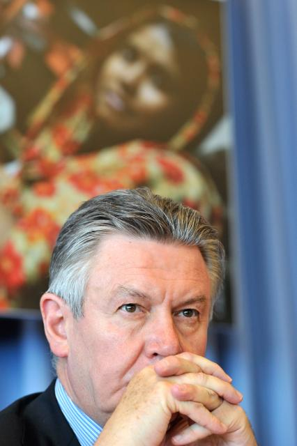 Launch of the Global Sustainability Compact in Geneva, with the participation of Karel De Gucht, Member of the EC
