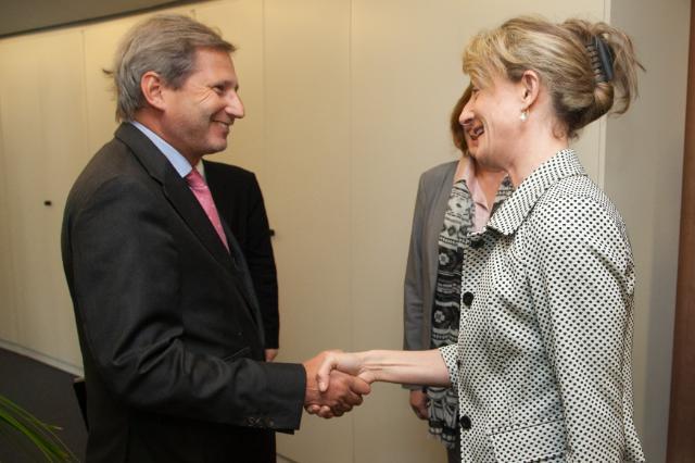 Visit of Zinaida Zlatanova, Desislava Terzieva and Iskra Mihaylova-Koparova, Bulgarian Ministers, to the EC
