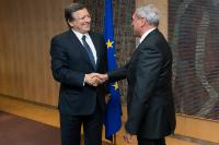 Visit of Pietro Grasso, President of the Italian Senate, to the EC