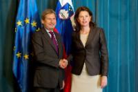 Visit of Johannes Hahn, Member of the EC, to Slovenia