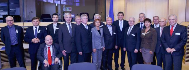 Visit of a group of Polish Members of the EP to the EC