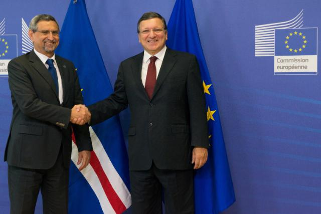 Visit of Jorge Carlos Fonseca, President of Cape Verde, to the EC