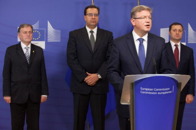 Visit of Leaders of the Moldova political parties to the EC