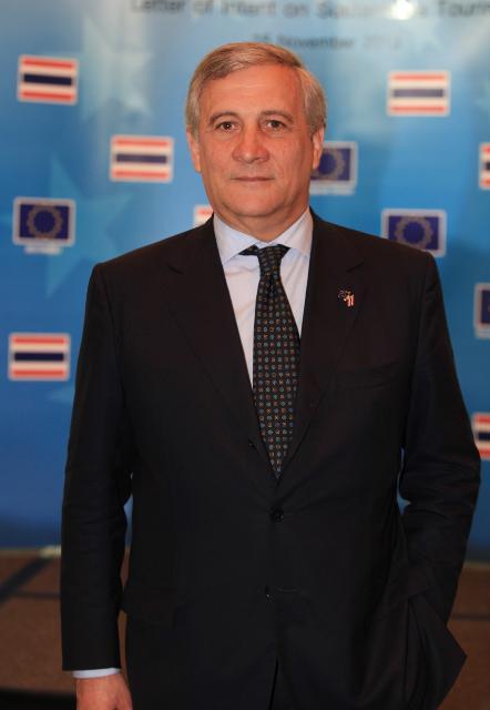 Visit of Antonio Tajani, Vice-President of the EC, to Thailand