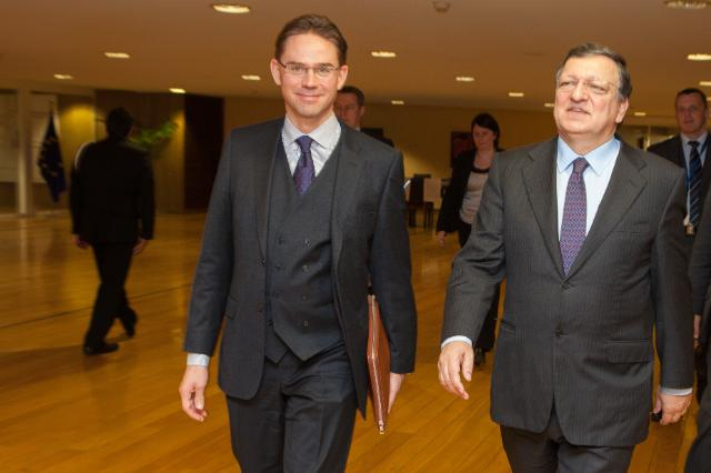 Visit of Jyrki Katainen, Finnish Prime Minister, to the EC