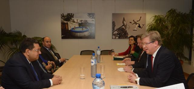 Visit of Ziad Bahaa ElDin, Egyptian Deputy Prime Minister and Minister for International Cooperation ad interim, to the EC