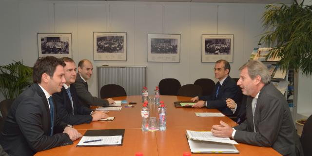 Visit of Mile Janakieski, Minister for Transport and Communications of the former Yugoslav Republic of Macedonia, to the EC