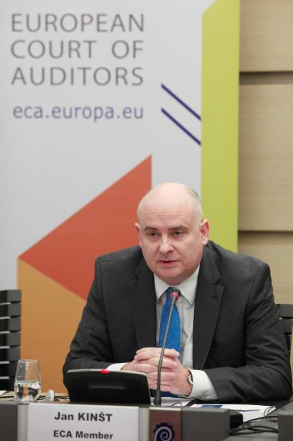 Press conference by Jan Kinšt, Member of the European Court of Auditors, on the ECA special report entitled 'Has the Environment component of the LIFE programme been effective?'