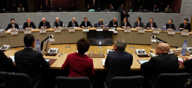 Participation of Johannes Hahn, Member of the EC, at the meeting on the alpine strategy with the Ministers for European and Foreign Affairs