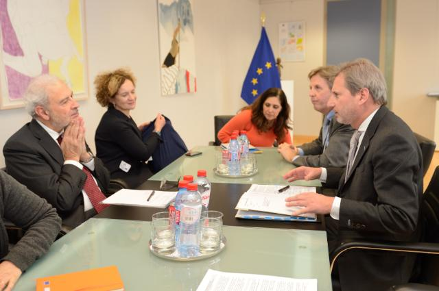 Visit of Carlo Trigilia, Italian Minister for Territorial Cohesion, to the EC