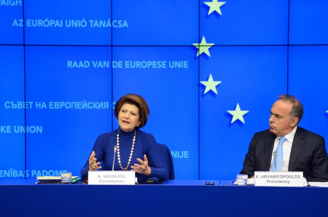 Participation of Androulla Vassiliou, Member of the EC, at the 3296th meeting of the Council
