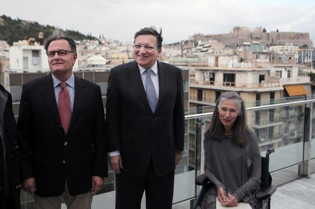 Visit of José Manuel Barroso, President of the EC, to Greece