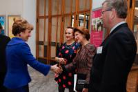 Participation of Androulla Vassiliou, Member of the EC, at the ceremony of the ECF Princess Margriet Award for Cultural Diversity