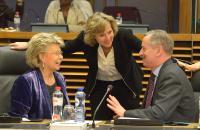 Réunion hebdomadaire de la Commission Barroso II