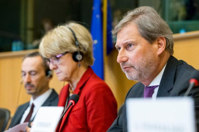 Participation of Johannes Hahn, Member of the EC, at the Committee on Regional Development of the EP