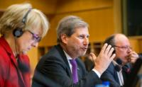 "Illustration of ""Participation of Johannes Hahn, Member of the EC, at the Committee on Regional Development of the EP"""