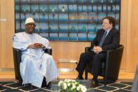 Visit of Ibrahim Boubacar Keïta, President of Mali, to the EC