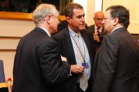 "Illustration of ""Participation of José Manuel Barroso, President of the EC, in the 20th Summit of Chairmen of the EPP..."
