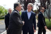 Visit of José Manuel Barroso, President of the EC, to San Francisco