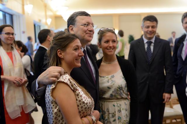 Visit of José Manuel Barroso, President of the EC, to San Francisco
