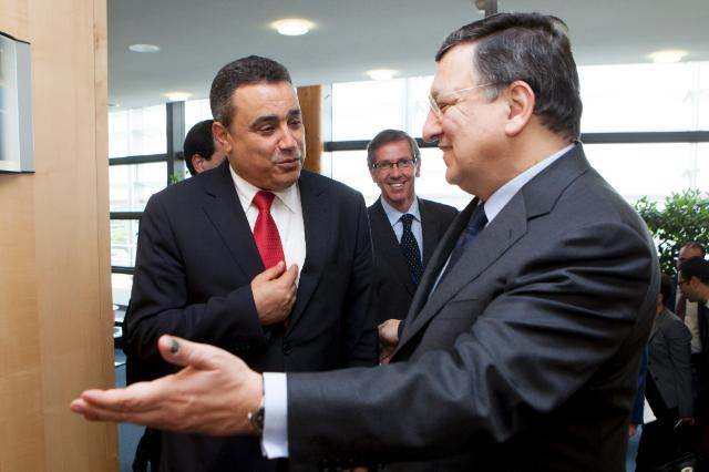 Visit of Mehdi Jomâa, Tunisian Prime Minister, to the EC