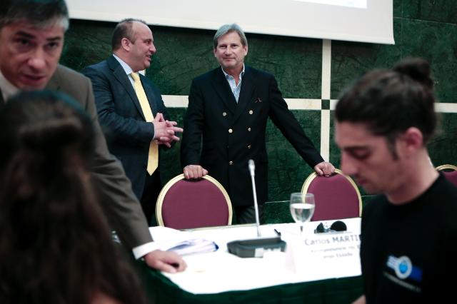 "Illustration of ""Visit of Johannes Hahn, Member of the EC, to Greece"""