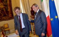 Visit of Maroš Šefčovič, Vice-President of the EC, and Johannes Hahn, Member of the EC, to Italy