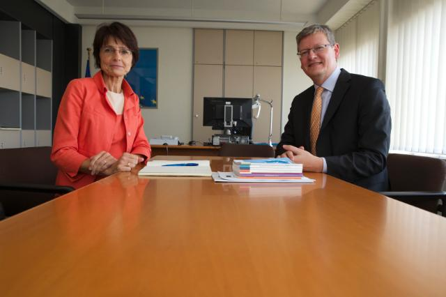 Meeting between László Andor, Member of the EC, and Marianne Thyssen, Member designate of the EC