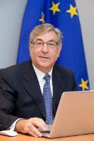 """Illustration of """"Karmenu Vella, Member designate of the EC"""""""