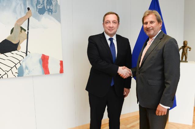 Visite d'Alex Petriashvili, ministre d'Etat géorgien pour l'Intégration européenne et euro-atlantique, à la CE