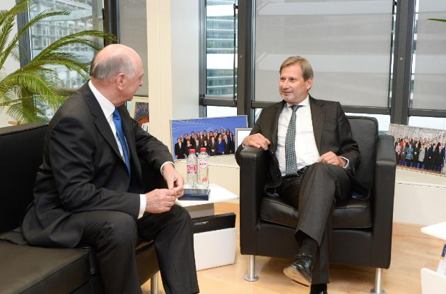 Visit of Erwin Pröll, Governor of Lower Austria, to the EC