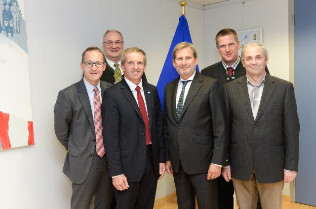 Visit of the Members of the Board of Gmundner Molkerei to the EC