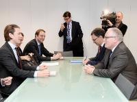 "Illustration of ""Visit of Sebastian Kurz, Austrian Federal Minister for European and International Affairs, to the EC"""