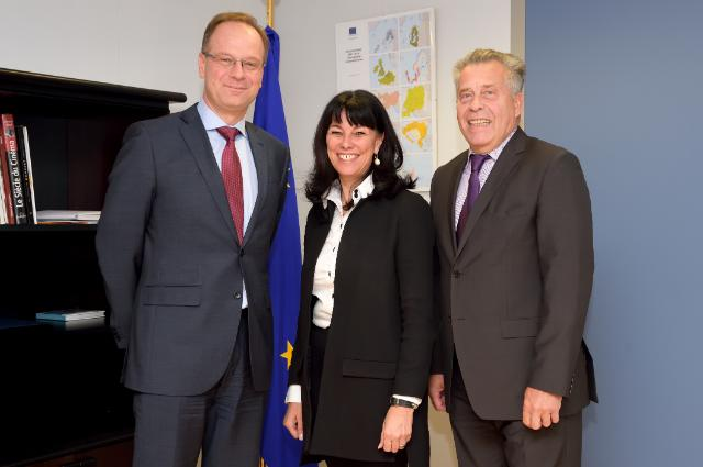 Visit of Richard Weber, President of Eurochambres, and Martha Schultz, Vice-President of Eurochambres, to the EC