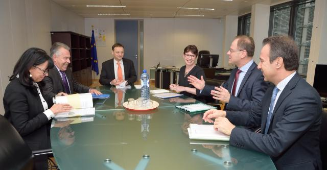Visit of Richard Weber, President of Eurochambres, and Martha Schultz, Vice-President of Eurochambres, to the EC