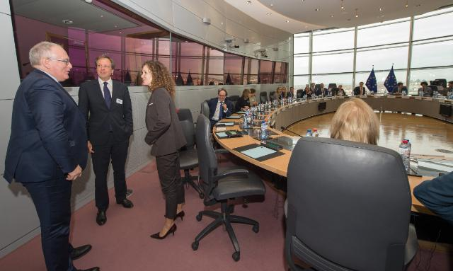 Visit of Members of the Dutch Parliament to the EC