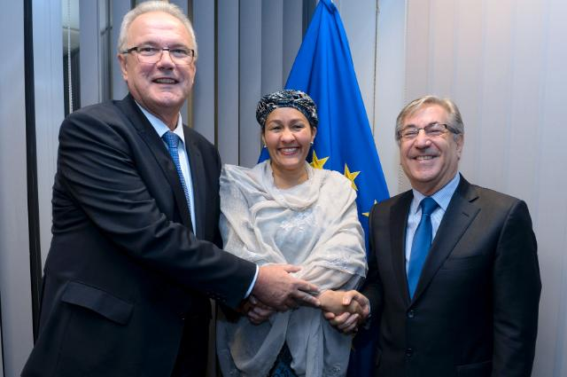Visit of Amina J. Mohammed, Special Adviser to Ban Ki-moon, Secretary General of the United Nations, on Post-2015 Development Planning, to the EC