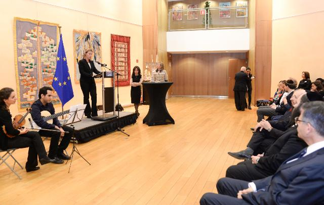 Participation of Federica Mogherini, Vice-President of the EC, in the 'EuroChanukah Peace 2014' event