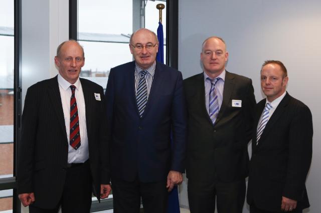 Visite de représentants de l'Association irlandaise des éleveurs bovins et ovins à la CE