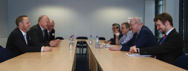 Visit of representatives from the Irish Cattle and Sheep Association to the EC