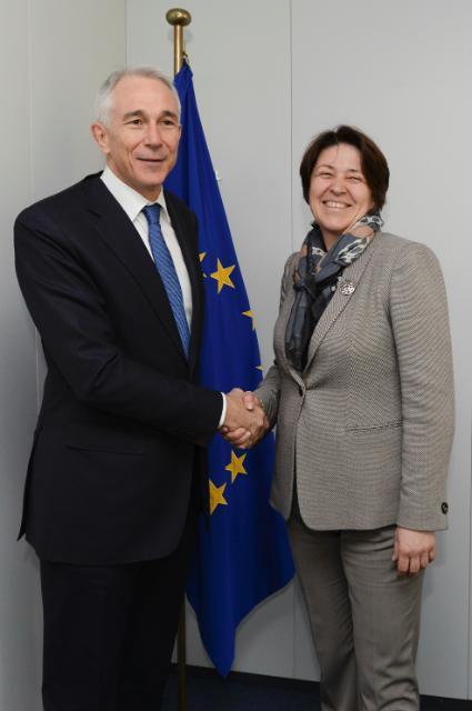Visit of Tony Tyler, Director General and CEO of the IATA, to the EC