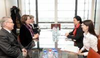 """Illustration of """"Visite de Diana Wallis, présidente de l'ELI, et Christiane Wendehorst, vice-présidente de l'ELI, à la CE"""""""